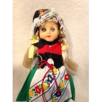 Кукла ALL VINYL JOINTED DOLLS IN TRADITIONAL COSTUMES